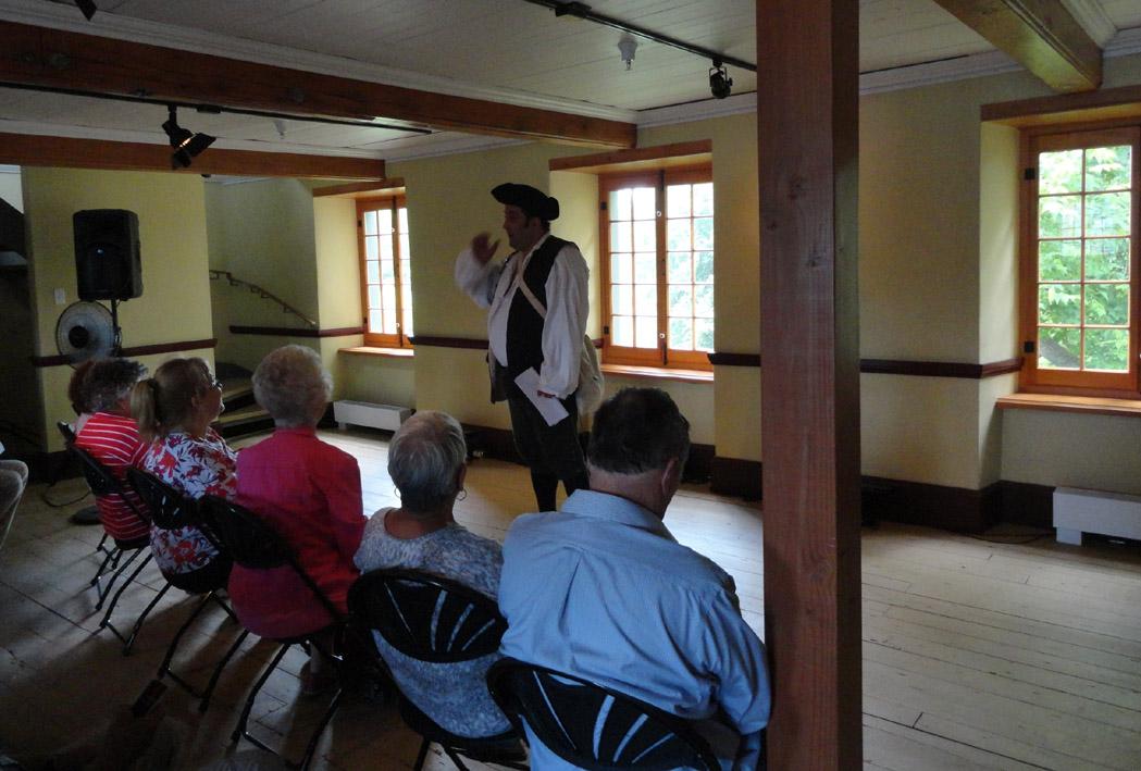 Visites guid es historiques et p for A la maison de pierre et dominique montreal